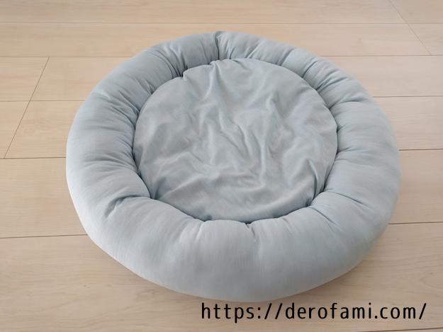 ニトリNクールの猫用ベッドを購入してみた…暑い日でも快適に過ごせるのでオススメ!