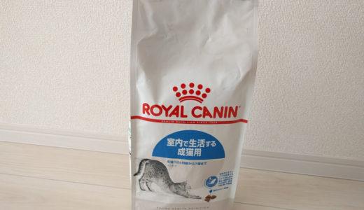 ロイヤルカナンのインドアを猫に与えてみた感想…食いつきが良く手軽に購入出来るキャットフード